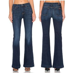 7 For All Mankind | Ginger Wide Leg Flare Jeans